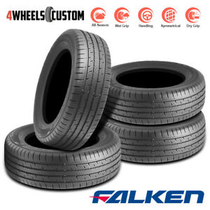 4 X New Falken Sincera Sn201 195 65r15 91h All Season Touring Tires