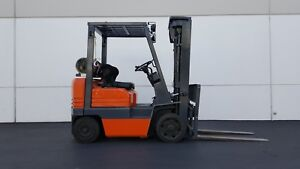 1996 Used Toyota Forklift With Propane Tank Good Condition Only 5850 Hours