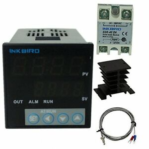 Inkbird f And c Display Pid Stable Temperature Controller Itc 106vh