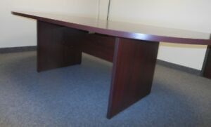 Hon Racetrack Shaped Laminate Conference Table