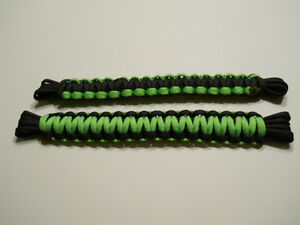 Jeep Paracord Door Limiting Straps Neon Green And Black For Jk Tj Yj 2 Door