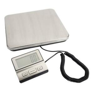 440lb 200kg Heavy Duty Digital Postal Scale Shipping Backlit Lcd Lb kg oz