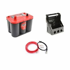 Optima Batteries 9002 002k1 Red Top 12 volt Battery And Box Kit Includes
