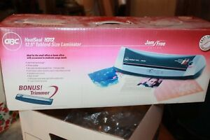Gbc Heat Seal H312 12 5 Tabloid Size Laminator Jam Free Pouch Laminator New