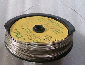 Wesgo 71 Silver 28 Copper 76 Nickel 019 Brazing Wire Nicusil 3 4 Troy Oz