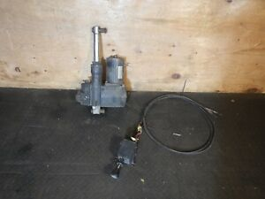 Jeep Meyers Fisher Plow Pump Motor Set Up W Controls Free Shipping