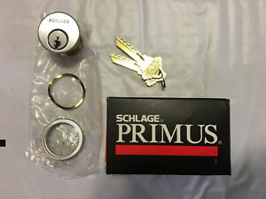 Schlage Primus 20 700 626 118 Cp Mortise New With 2 Keys