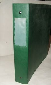 Qty 15 Accohide Chemical Resin 39556 Green Binders dividers Office Supplies