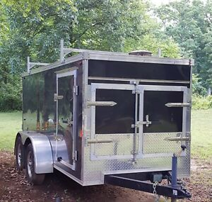Pressure Washer Trailer Hot Or Cold Enclosed Industrial