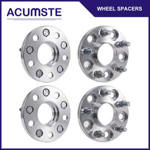 4pcs 15mm Hub Centric Wheel Spacers Adapters 5x114 3 64 1mm Cb For Honda Acura