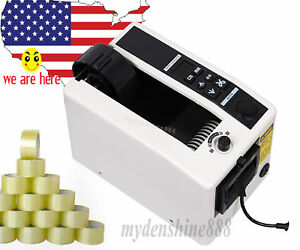 2sets Electronic Automatic Tape Dispenser Adhesive Tape Cutter Cutting Machine