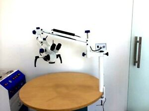Portable Dental Operating Microscope With 3 Step Manual Fine Focusing