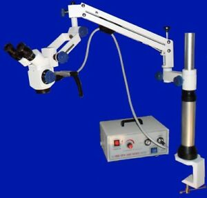 3 Steps Portable Dental Microscope With Beam Splitter ccd Camera Manual Focus