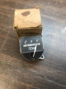 1946 Lincoln Dash Water Temperature Gauge Nos Ford 818