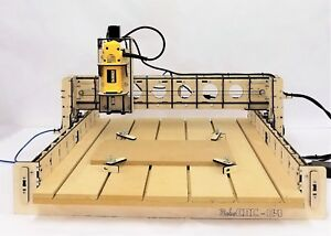 Bobscnc E4 Cnc Router Kit Includes The Dewalt Dw660 24 X 24 Cutting Area