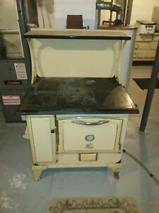 Vintage Cast Iron American Stove Company Quick Meal Wood Stove