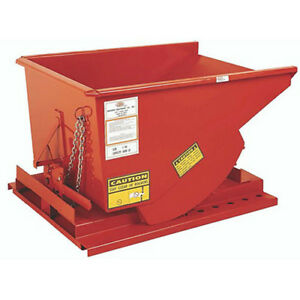 Meco All welded Self dumping Steel Hoppers 10 gauge Steel