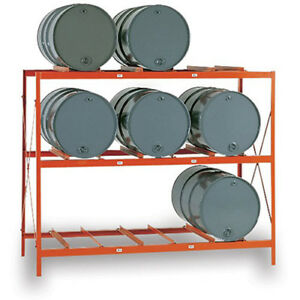 Meco Drum Storage Racks 9 Drums Lot Of 1