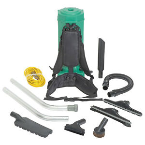 Bissell Biggreen Commercial Backpack Vacuum 10 quart Lot Of 1