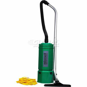 Bissell Biggreen Commercial Backpack Vacuum 6 quart Lot Of 1