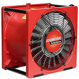Euramco Safety Ea7000x 16 Smoke Removal Fan With Explosion Proof Motor 1 2 Hp