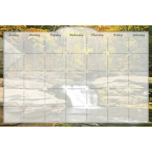 Biggies Dry erase Calendar River Falls 36 X 24 Lot Of 1