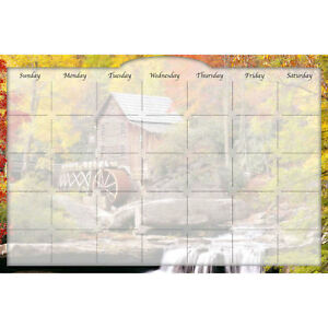 Biggies Dry erase Calendar Water Wheel 36 X 24 Lot Of 1