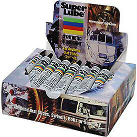 Tube Counter Box Display 40 Pcs 1 2 Oz Lot Of 1