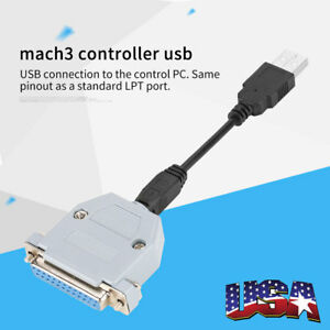 4 72 Inch Uc100 Cnc Usb Controller Usb To Parallel For Mach3 Cnc Controller Us