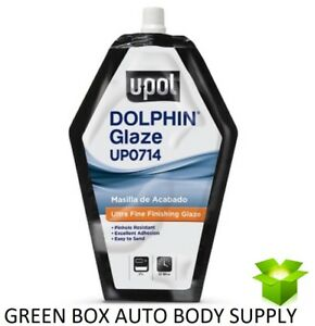 U Pol 714 Dolphin Putty Pourable Finishing Glaze Filler 440 Ml Bag Up0714