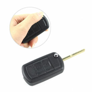 Fit Land Rover Range Rover Sport Lr 3 Discovery3 Btn Flip Key Shell Case Fob