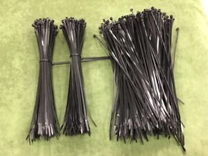 11 Industrial Black Wire Cable Zip Uv Nylon Tie Wraps 100 1000 Pack
