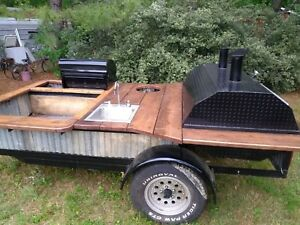 Competition Bbq Cooker Trailer Super Nice Barbeque Cooker Pig Cooker Grill