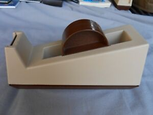 Old Vintage Scotch C 25 Heavy Duty 3m 3 Core Tape Dispenser Weighted Usa 2