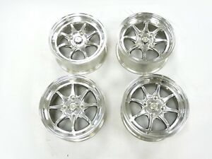Nippon Racing Wheels Mag1 Style Rims For Civic 15x7 34 P C D 4x114 3 4pc Set