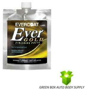 Evercoat 405 Evergold Ultra Auto Body Finishing Putty 16 Fl Oz Pouch Ever Gold