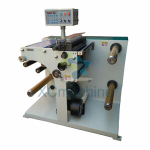Printing Thermal Paper Label Slitting Roll Cutting Machine Rewinding Machine