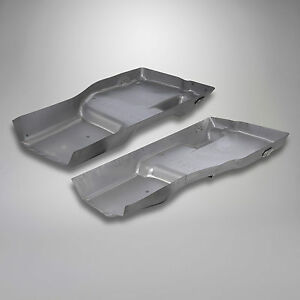 1976 1982 C3 Corvette Steel Floor Pan Set W out O Power Seat Left Right Pair