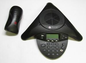 Polycom Soundstation2 2201 16200 601 Conference Telephone With Wall Module
