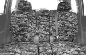 Caltrend Camouflage Front Custom Seat Cover For Nissan 2005 2010 Titan