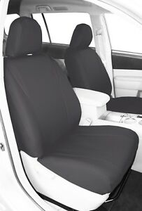 Caltrend Synthetic Leather Front Custom Seat Cover For Nissan 2005 2010 Titan