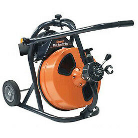 General Wire Mini rooter Pro Drain sewer Cleaning Machine W 75 X 1 2 Cable