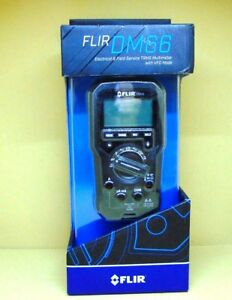 Flir Dm66 Electrical And Field Service Trms Multimeter With Vfd Mode
