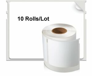 10 Rolls Dymo Compatible 1744907 4xl Thermal Shipping Labels 4x6 For Ebay Ups Us