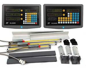 2 3 Axis Digital Readout Display For Milling Lathe Machine Linear Scales Encoder