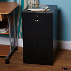 Metal Office Storage Cabinet 2 Drawer Locker File
