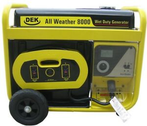 Beast Generator 10000 watt All Weather Electric Start Removable Control Panel