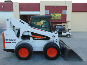 2012 Bobcat S 770 Turbo 92 Hp Enclosed Air Conditioned Cab Hydraulic Coupler