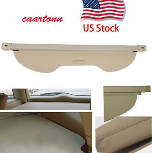 Retractable Trunk Luggage Security Cargo Cover Shade For 13 18 Ford Escape Beige