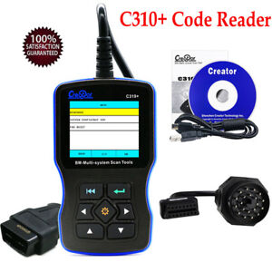 C310 Code Reader Scanner Engine Oil Service Reset And 20pin For Bmw Mini 97 13